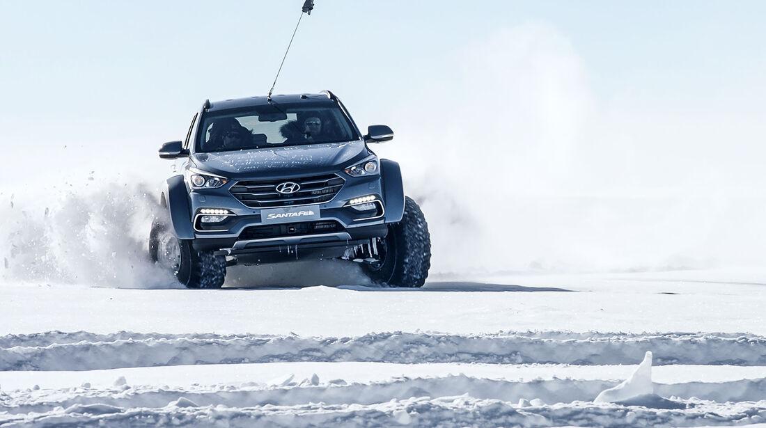 Hyundai Santa Fe Antarktis Expedition