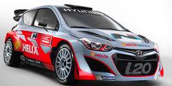 Hyundai Shell World Rally Team 2014 Hyundai i20 WRC