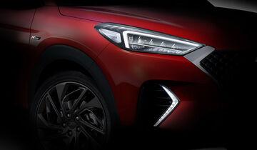 Hyundai Tucson N-Line Teaser
