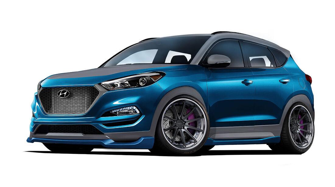 Hyundai  Vaccar Tucson Sport Concept