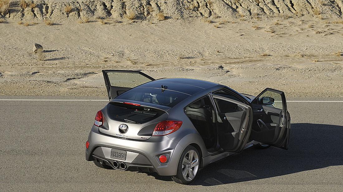 Hyundai Veloster Turbo auf der Detroit Motor Show 2026