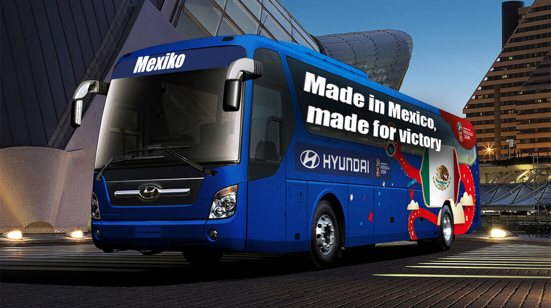 Hyundai WM-Busse Slogan Mexiko