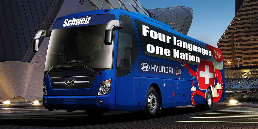 Hyundai WM-Busse Slogan Schweiz