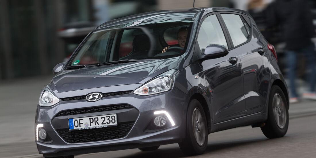 Hyundai i10 1.2, Frontansicht