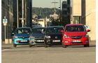 Hyundai i10, Opel Karl, Renault Twingo, VW Up