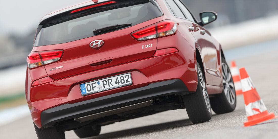 Hyundai i30 1.0 T-GDI, Heckansicht
