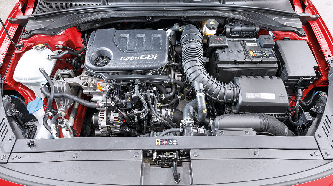 Hyundai i30 1.0 T-GDI, Motor