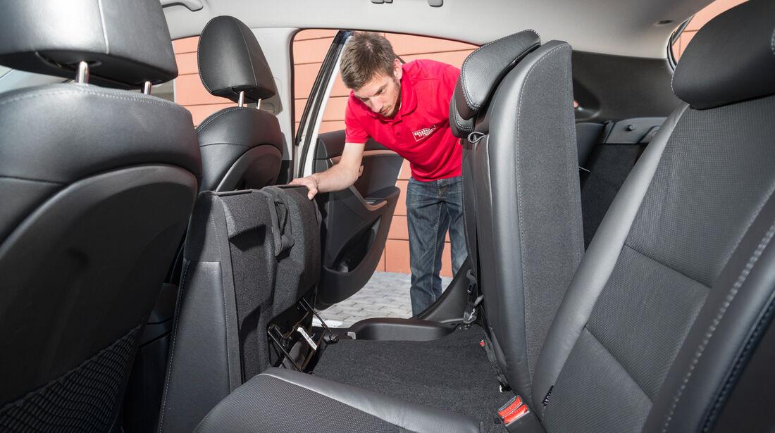 Hyundai i30 1.6 GDi, Rücksitz, Umklappen