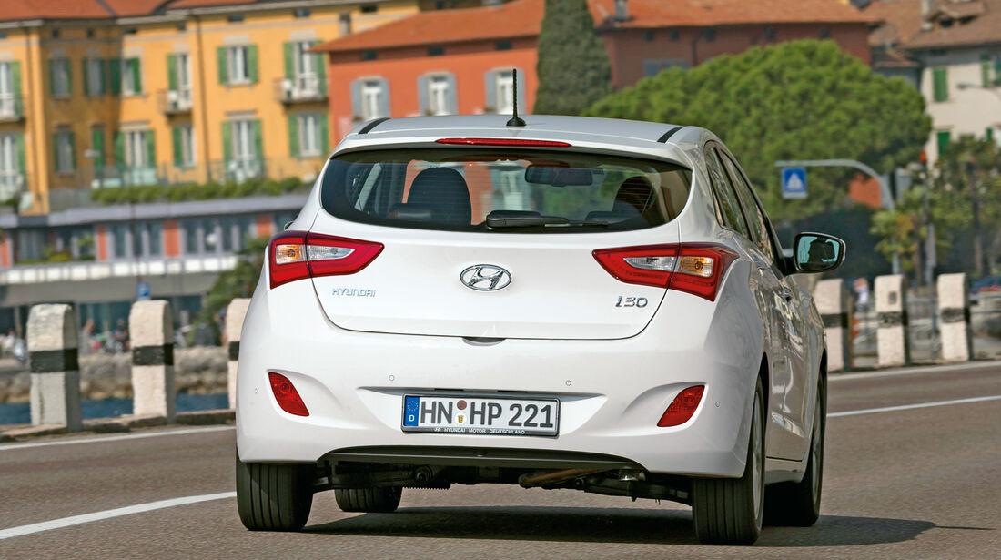 Hyundai i30 1.6, Heckansicht