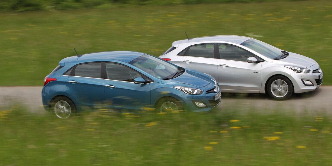 Hyundai i30 1.6, Hyundai 1.6 CRDi, Seitenansicht