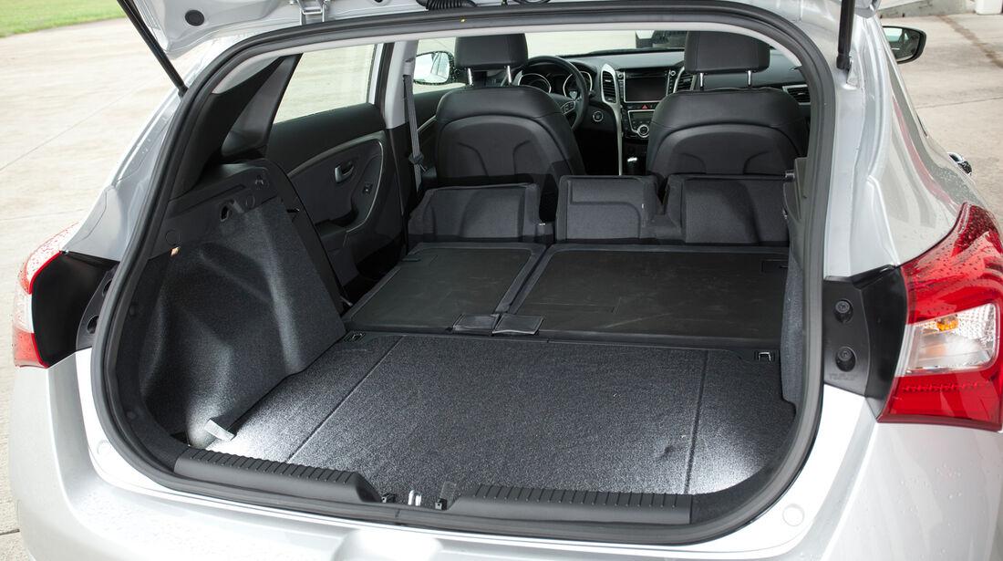 Hyundai i30 1.6, Ladefläche