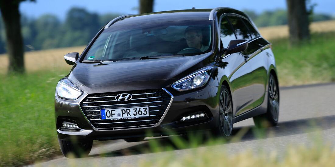 Hyundai i40 Kombi 1.7 CRDi, Frontansicht
