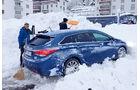 Hyundai i40 Kombi 1.7 CRDi, Schweiz, Schnee