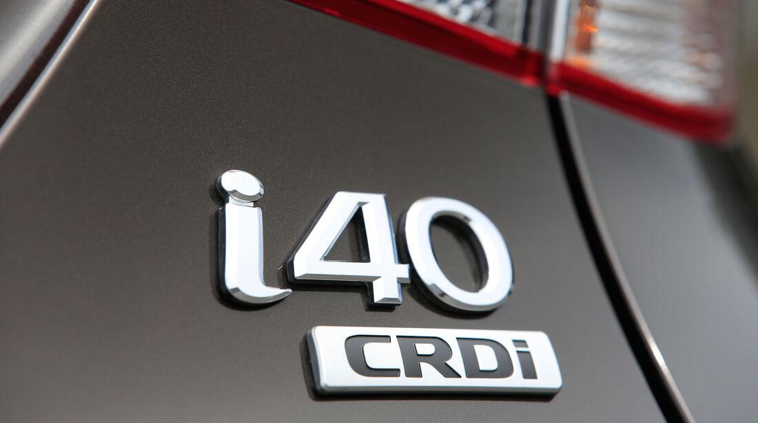 Hyundai i40 Kombi 1.7 CRDi, Typenbezeichnung