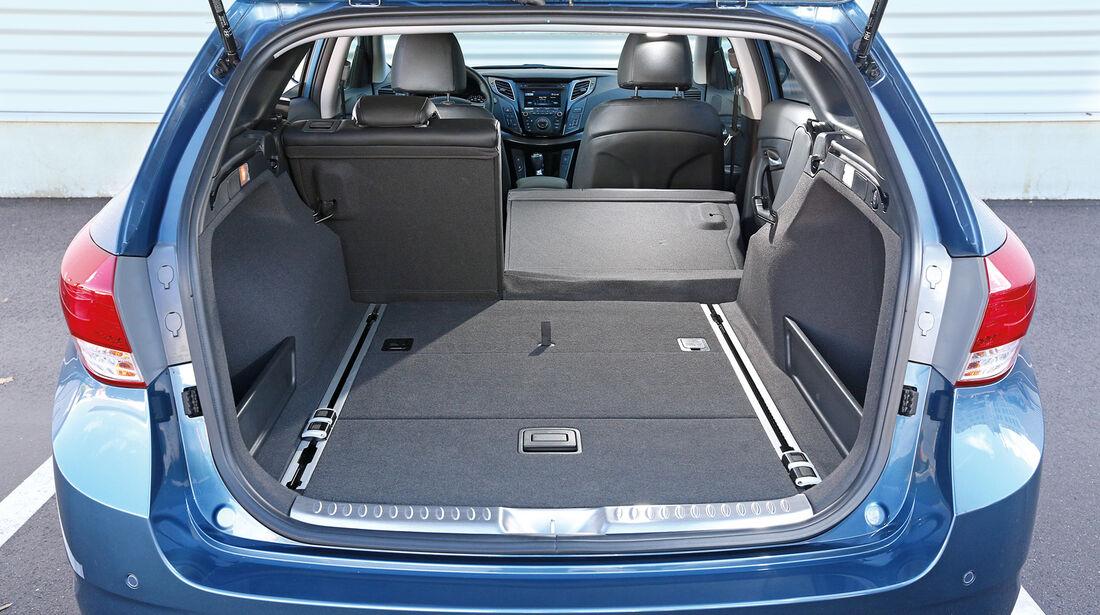 Hyundai i40, Kombi, Kofferraum