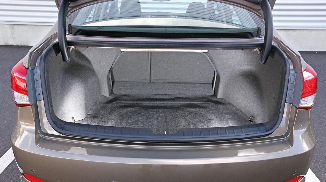 Hyundai i40, Limousine, Kofferraum