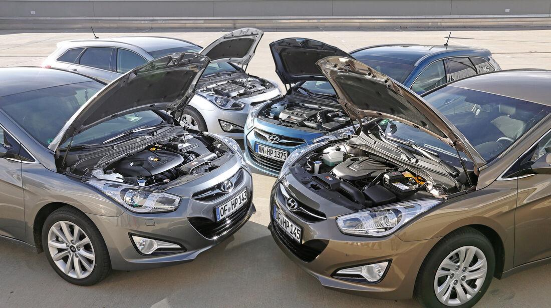 Hyundai i40, Motoren