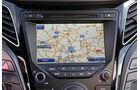 Hyundai i40, Navi, Bildschirm