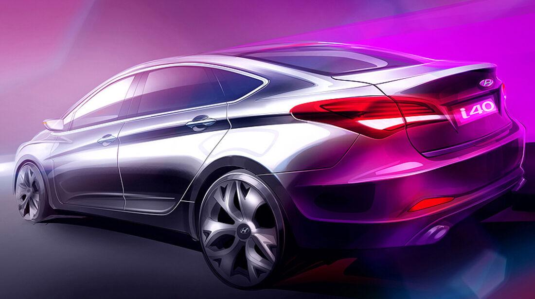 Hyundai i40 Stufenheck, Limousine