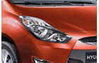 Hyundai ix20, Detail, Scheinwerfer, Sienna Orange