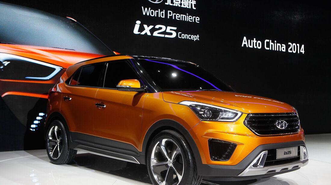 Hyundai ix25 Peking Motor Show