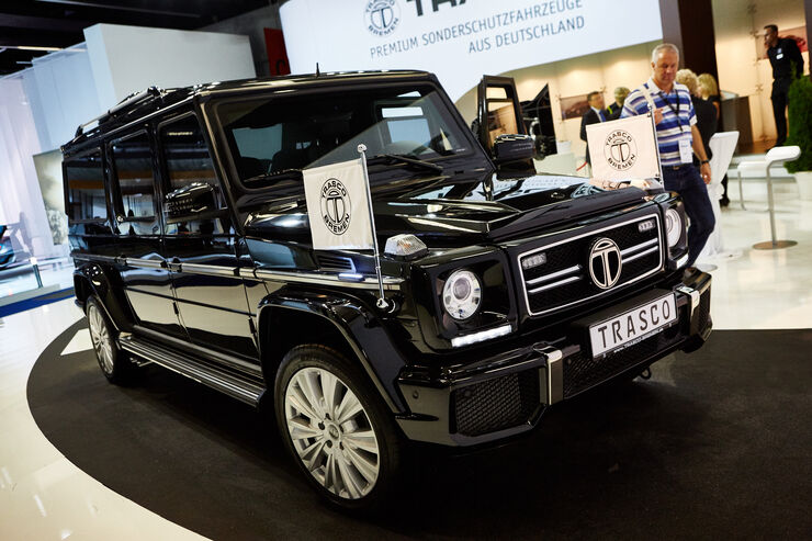 mercedes g 63 amg von trasco hochsicherheits koloss auto motor und sport. Black Bedroom Furniture Sets. Home Design Ideas