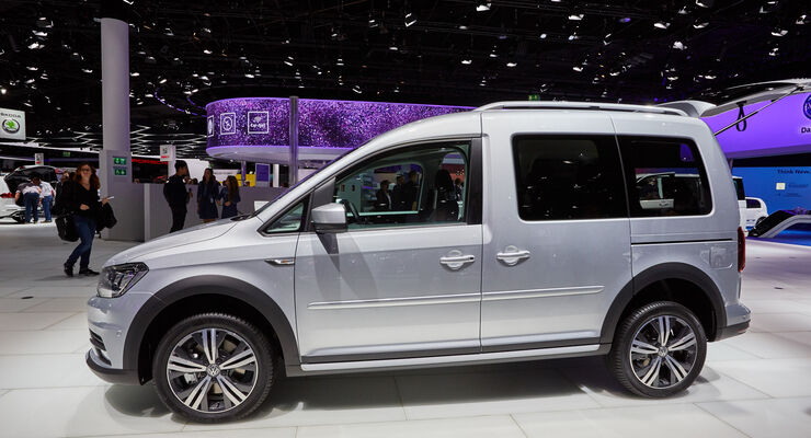 IAA 2015, VW Caddy Alltrack