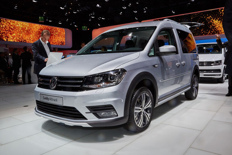vw caddy alltrack iaa 2015 van auto motor und sport. Black Bedroom Furniture Sets. Home Design Ideas