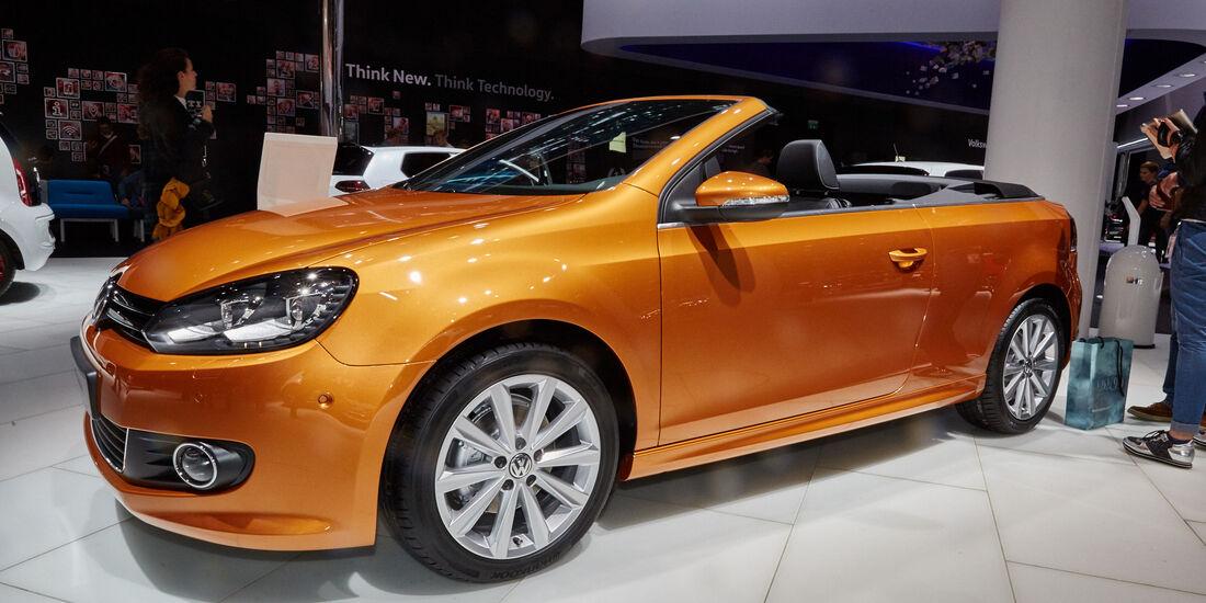 IAA 2015, VW Golf Cabriolet
