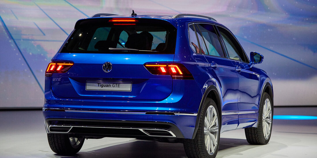 IAA 2015, VW Tiguan GTE