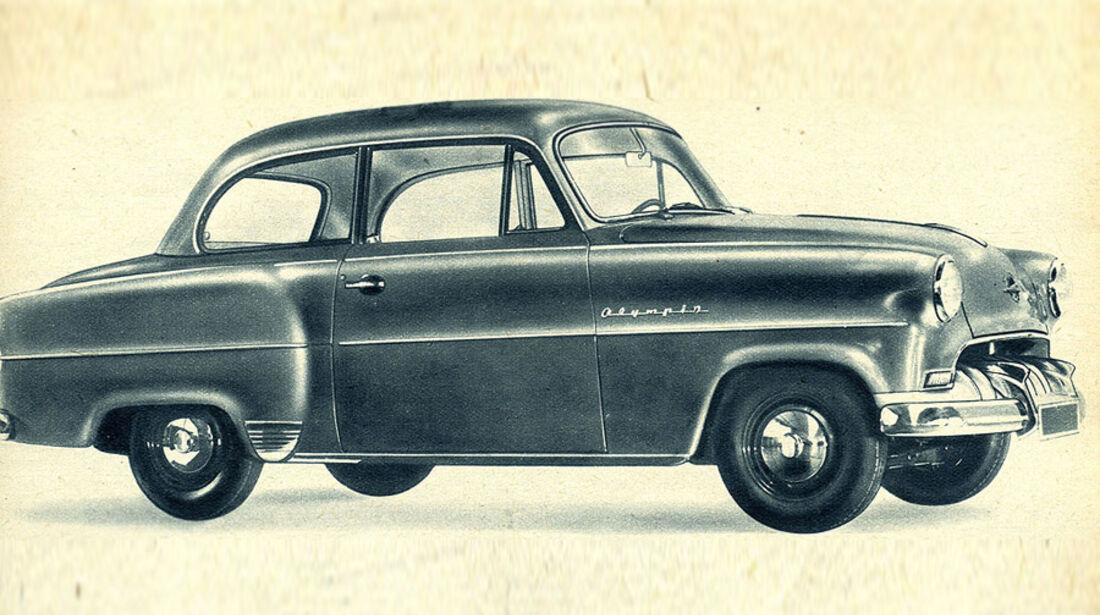 IAA, Opel, Olympia, Historie, Geschichte, Chronik, Highlights