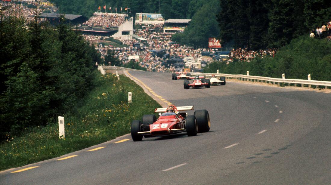 Ignazio Giunti - Ferrari 312B - GP Belgien 1970 - Spa