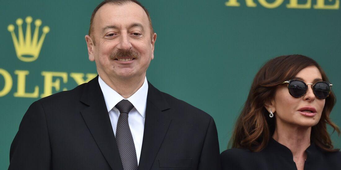 Ilham Aliyev - Formel 1 - GP Aserbaidschan - 29. April 2018