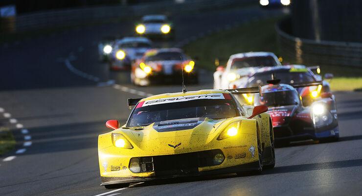 Impressionen - 24h-Rennen - Le Mans 2014 - Corvette