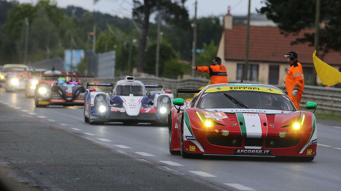 Impressionen - 24h-Rennen - Le Mans 2014 - Safety Car
