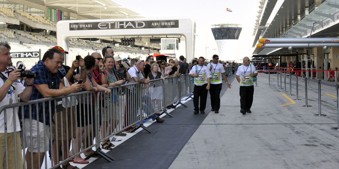 Impressionen - Formel 1 - GP Abu Dhabi - 31. Oktober 2013