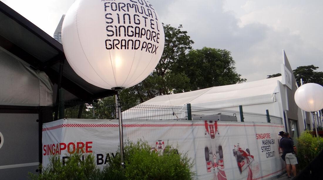Impressionen - Formel 1 - GP Singapur - 20. September 2012