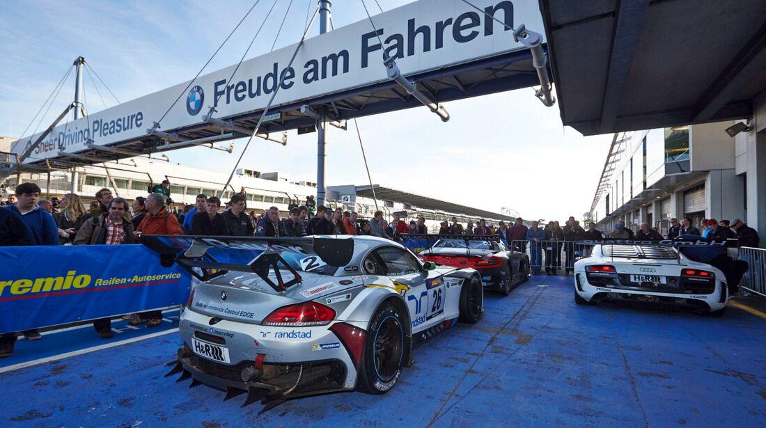 Impressionen - VLN 1 - Nürburgring Nordschleife - 29. März 2014