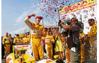 Indycar Milwaukee, Hunter-Reay, Sieger