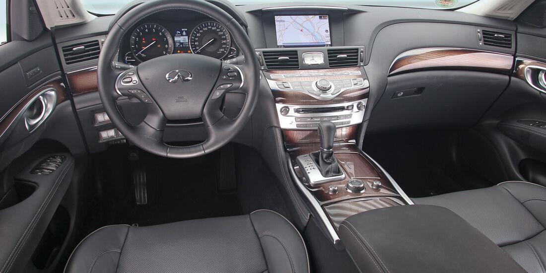 Infiniti M35h GT Premium, Cockpit, Lenkrad