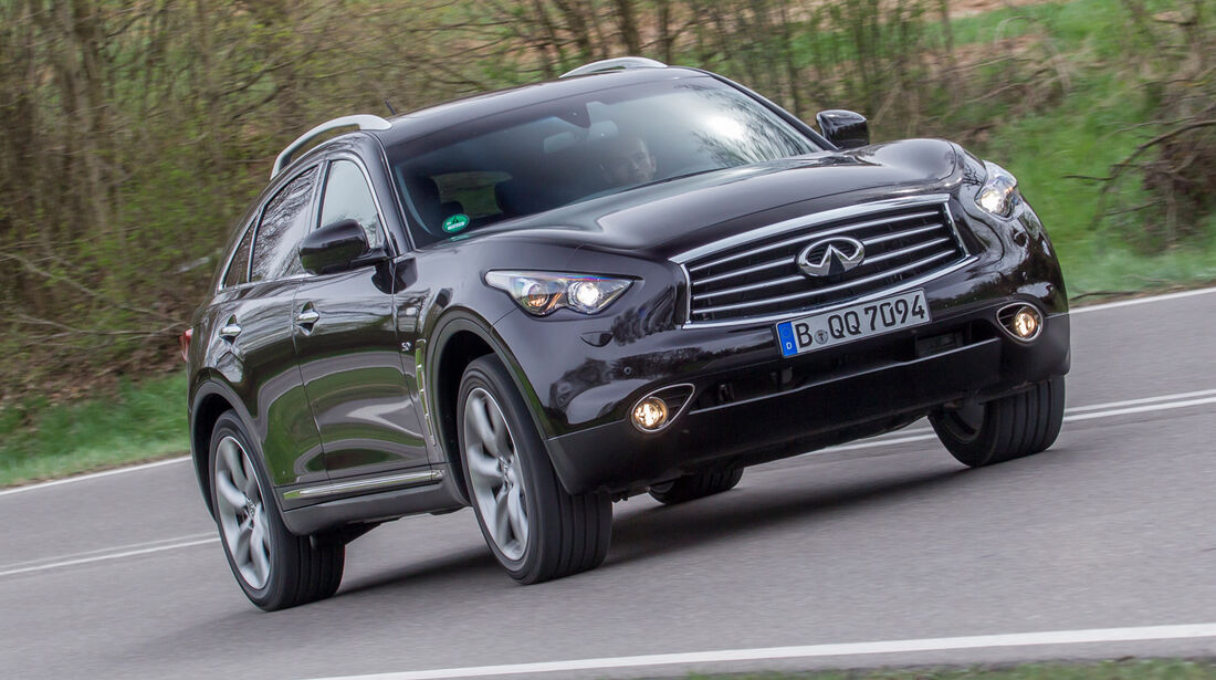 Infiniti QX70 5.0 S, Frontansicht
