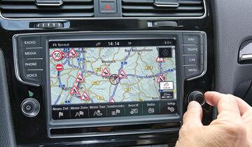 Infotainment-Bedienung, VW Golf