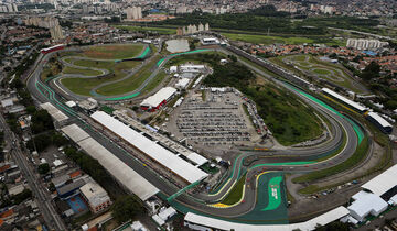Interlagos-Strecke - GP Brasilien 2017