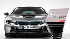 International Paul Pietsch Award 2015 BMW i8