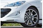 Irmscher Peugeot RCZ, Detail, Felge, Scheinwerfer