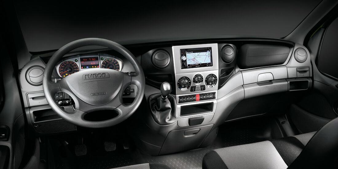 Iveco Eco Daily Electric, Elektroauto, Elektro-Transporter, Cockpit