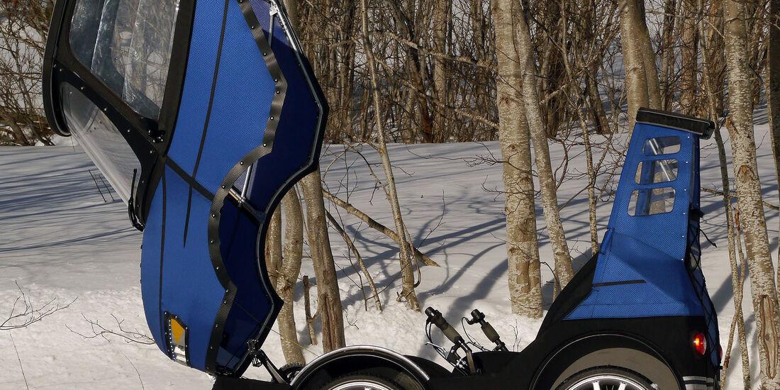 JMK-Innovation PodRide Elektroauto / E-Bike
