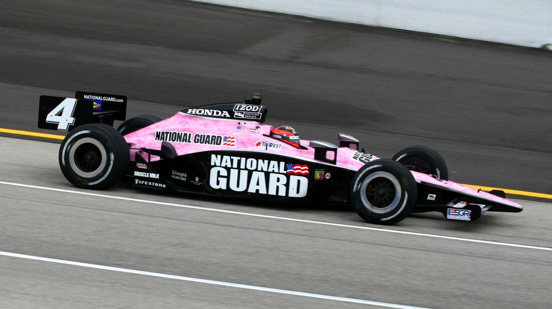 JR Hildebrand - Kentucky - Indycar - 2011