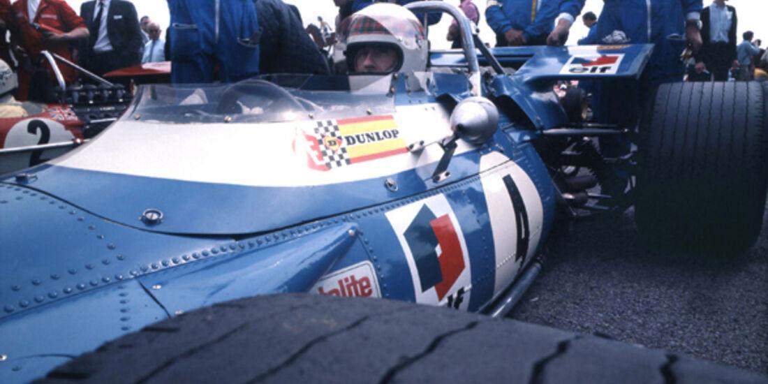Jackie Stewart GP Holland 1968
