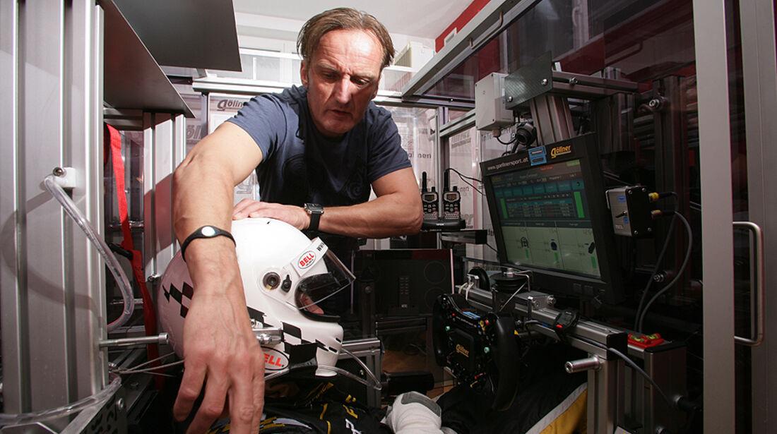 Jacques Villeneuve Erwin Göllner Trainingsgerät